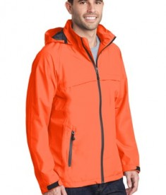 Port Authority Torrent Waterproof Jacket Style J333 - Model - Orange Crush