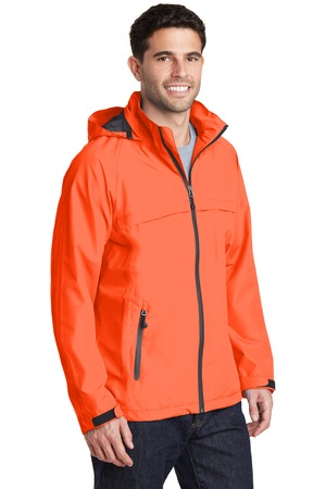 Port Authority Torrent Waterproof Jacket Style J333 – Model – Orange Crush