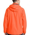Port Authority Torrent Waterproof Jacket Style J333 - Back - Orange Crush