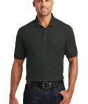 Port Authority Core Classic Pique Polo w/Pocket Style K100P - Model - Deep Black