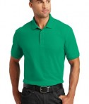 Port Authority Core Classic Pique Polo Style K100 - Model - Bright Kelly Green
