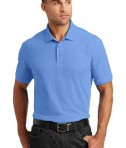 Port Authority Core Classic Pique Polo Style K100 - Model - Carolina Blue