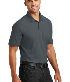 Port Authority Core Classic Pique Polo Style K100 - Model - Graphite