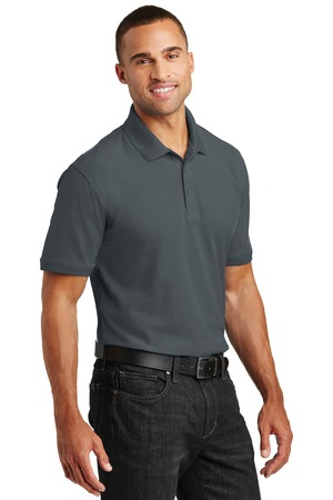 Port Authority Core Classic Pique Polo Style K100 – Model – Graphite