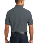 Port Authority Core Classic Pique Polo Style K100 - Back - Graphite
