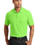 Port Authority Core Classic Pique Polo Style K100 - Model - Lime