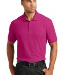 Port Authority Core Classic Pique Polo Style K100 - Model - Pink Azalea