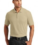 Port Authority Core Classic Pique Polo Style K100 - Model - Wheat