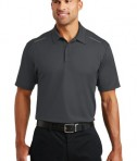 Port Authority Pinpoint Mesh Polo - model - Battleship Grey