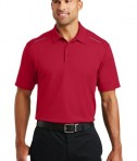 Port Authority Pinpoint Mesh Polo - model - Rich Red