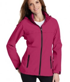 Port Authority Torrent Waterproof Jacket Style L333 - Model - Dark Fuchsia