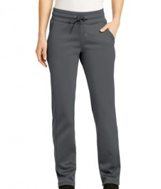 Sport-Tek Ladies Sport-Wick Fleece Pant - Dark Smoke Grey
