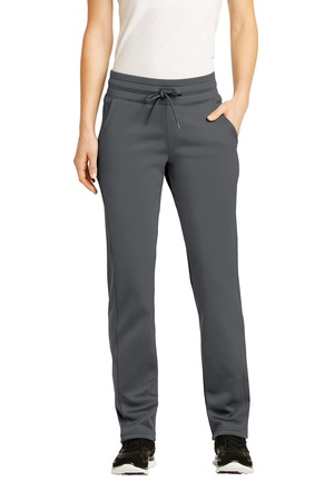 Sport-Tek Ladies Sport-Wick Fleece Pant – Dark Smoke Grey