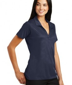 Sport-Tek Ladies Embossed PosiCharge Tough Polo - True Navy - Model