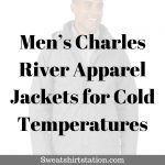 Men's Charles River Apparel Jackets for Cold Temperatures