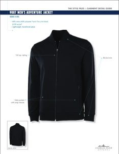 Men's Adventure Jacket (9087)