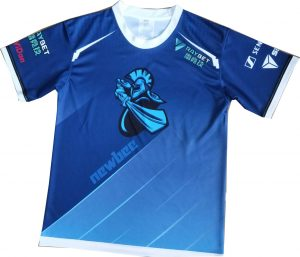 Newbee Sublimation Newbee Jersey back