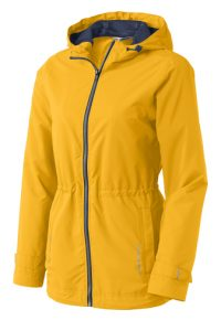 Port Authority Ladies Northwest Slicker Rain Jacket L7710 Slicker Yellow