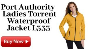 Port Authority Ladies Torrent Waterproof Jacket L333 Yellow