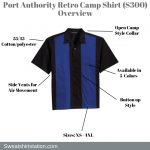 Port Authority Retro Camp Shirt (S300) Overview