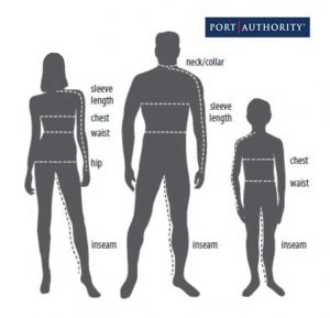 Port-Authority-Size-chart-figures