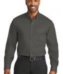 Red House Non-Iron Twill Shirt - Grey Steel