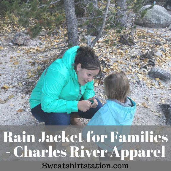 Rain Jacket for Families - Charles River Apparel