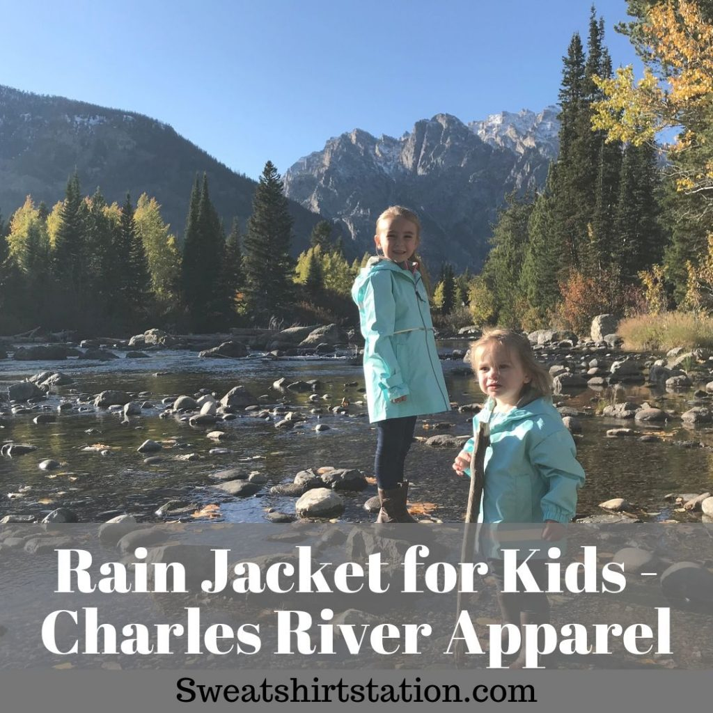 Rain jacket for Kids – Charles River Apparel