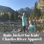 Rain Jacket for Kids - Charles River Apparel