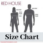 Red House Size Chart – Overview (Measurement Process Included)