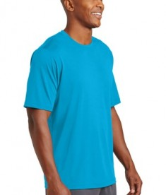 Sport-Tek PosiCharge® Tough Tee - Atomic Blue - model