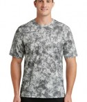 Sport-Tek Mineral Freeze Tee - front - Dark Smoke Grey