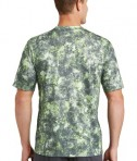 Sport-Tek Mineral Freeze Tee - Back - Limeshock