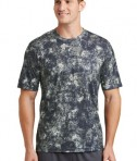 Sport-Tek Mineral Freeze Tee - front - True Navy