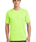 Sport-Tek PosiCharge® Electric Heather Tee Style ST390 - Lime Shock Electric