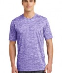 Sport-Tek PosiCharge® Electric Heather Tee Style ST390 - Purple Electric