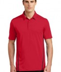 Sport-Tek Contrast PosiCharge Tough Polo Style ST620 - Deep Red/Black - Model