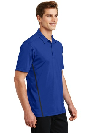 Sport-Tek Contrast PosiCharge Tough Polo Style ST620 – True Royal/Black – Model