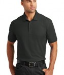 Port Authority Tall Core Classic Pique Polo Style TLK100 - Deep Black - Model