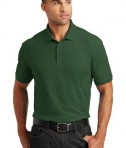 Port Authority Tall Core Classic Pique Polo Style TLK100 - Deep Forest Green - Model