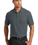 Port Authority Tall Core Classic Pique Polo Style TLK100 - Graphite - Model