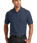Port Authority Tall Core Classic Pique Polo Style TLK100 - River Blue Navy - Model
