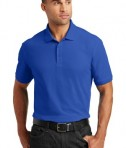 Port Authority Tall Core Classic Pique Polo Style TLK100 - True Royal - Model