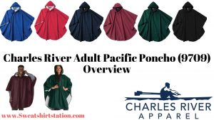 Unisex Charles River Adult Pacific Poncho (9709) Colors