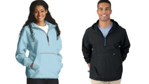 Unisex Charles River Adult Pack-N-Go Pullover (9904)