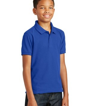 Port Authority Core Classic Pique Polo Style Y100 – True Royal – Model