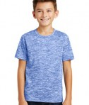 Sport-Tek Youth Posicharge Electric Heather Tee - True Royal Electric - Model