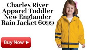 Yellow Charles River Apparel Toddler New Englander Rain Jacket 6099 Yellow