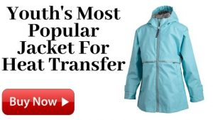 Youth's Most Popular Jacket For Heat Transfer