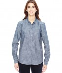 Alternative Ladies' Work Shirt Chambray Blue